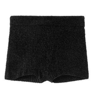 Victoria Secret Black Sweater Hot Short *Like New*
